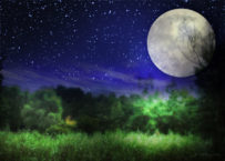 パワースポット月読神社と満月
