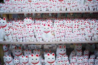 豪徳寺招き猫